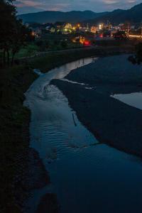 夕闇迫るあいあい橋 - デジカメ写真集