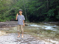 赤沢自然休養林から大鈴山 - Team Kozaemon