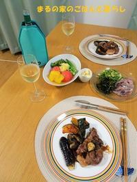 豚ステーキと白ワインなど - まるの家のごはんと暮らし