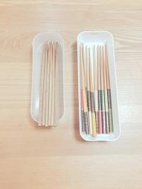 お箸の収納方法 - ufufu space(うふふ すぺーす)☆いなべ市☆おかたづけ