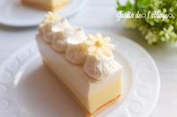 パッションマンゴーのレアチーズ - 「jardin de l'abbaye 」お菓子ブログ
