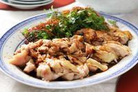 よだれ鶏と香菜 - 登志子のキッチン
