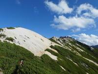 パノラマ銀座コース 燕岳 (2,763M)     登頂 編 - 風の便り