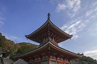 国宝建築144浄土寺多宝塔(広島県尾道市) - 国宝建築・日本全国の町々を撮り歩く旅。