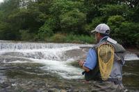 開田高原渓流釣行 - ブラッドノット/岡田裕師のフライフィッシング ブログ
