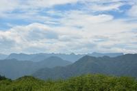 8月31日 荒船山にかかる雲 - 光画日記