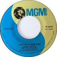 Johnny Bristol – Hang On In There Baby / Take Care Of You For Me - まわるよレコード ACE WAX COLLECTORS