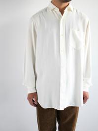 blurhmsRough Silk Cotton Shirt - Natural - 『Bumpkins putting on airs』
