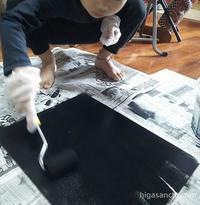 子どもと一緒に簡単♪黒板をつくりました - Higasanchi