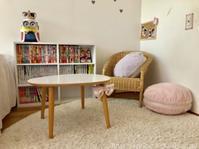 マンガと文庫本の収納@長女の部屋 - シンプルで心地いい暮らし