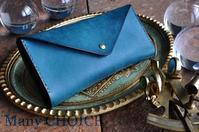 イタリアンレザー・プエブロ・長財布2・時を刻む革小物Mnay CHOICE - 時を刻む革小物 Many CHOICE~ 使い手と共に生きるタンニン鞣しの革
