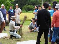 米作り2・稲刈り体験をしよう - 千葉県いすみ環境と文化のさとセンター
