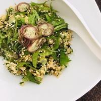 晩夏のチャーハン - 玄米菜食 in ニュージャージー
