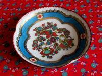 オーストリアのクローバー型エナメル小皿 -  Der Liebling ~蚤の市フリークの雑貨手帖2冊目~