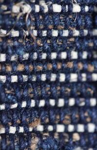 古布木綿紙縒りぜんまい等野良着Japanese Antique Textile Koyori-paper Zenmai Noragi - 京都から古布のご紹介