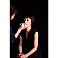 メイク中 - sawako blog