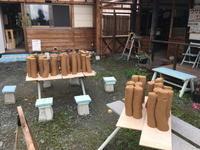 粘土練りとロクロのリハビリ - 週末陶芸家 フジサキウサジ