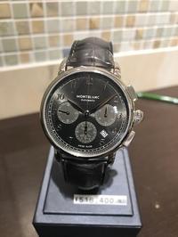 新作 モンブラン クロノグラフ - 熊本 時計の大橋 オフィシャルブログ