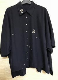 着物からシャツカラーのアウター生徒の作品 - アトリエ A.Y. 洋裁教室