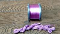古代紫の糸 - よしのクラフトルーム