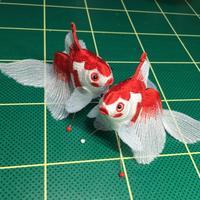 きんとと姉妹のナイショ話 - ソライロ刺繍