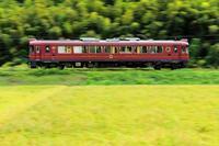 稲実る季節 - 今日も丹後鉄道
