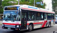 北海道中央バス 2SG-HL2ASBP - 研究所第二車庫