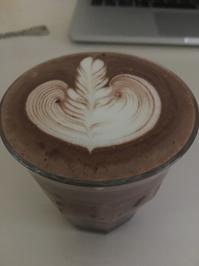 ココアートして見ました♪ - Coffee Seeker (コーヒー、カフェ、ライフスタイル情報)