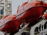 南極観測船「しらせ」(5/5)/救命艇 - 四十八茶百鼠