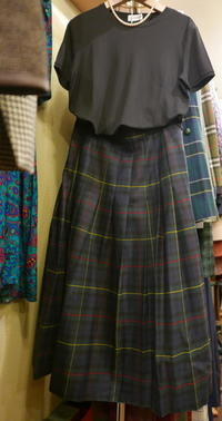 Check Skirt - carboots