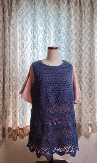 チュニック1枚目が完成。 - Crochet Atelier momhands