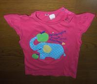 ベビーTシャツリメイク - フリルの子供服