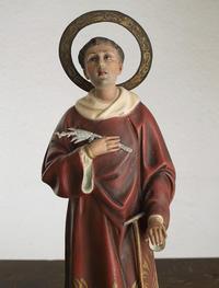 聖ロレンソ像 ローマのラウレンティウス /F513 - Glicinia 古道具店