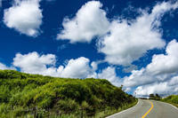 阿蘇を駆けるライダー - 撃沈風景写真