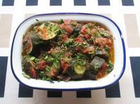 <イギリス料理・レシピ> ズッキーニのマリネサラダ【Marinated Courgette Salad】 - イギリスの食、イギリスの料理&菓子