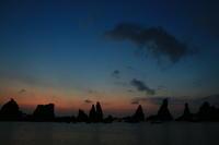 橋杭岩の夜明け - ゆる鉄旅情