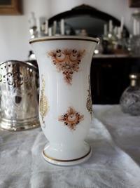 ボヘミアガラス絵付け花瓶 - スペイン・バルセロナ・アンティーク gyu's shop