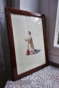 リトグラフ入り木製額800,801,802 - スペイン・バルセロナ・アンティーク gyu's shop