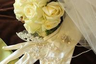 ウエディングドレスに合わせる小物を決める② - 大人婚  ~結婚準備から今まで