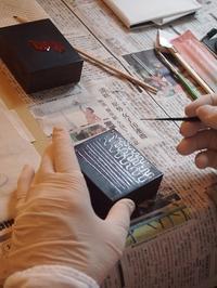 栗本夏樹漆芸レッスン第2回目 - アートで輪を繋ぐ美空間Saga