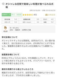 クチコミ投稿♡ - アーマ・テラス   ウエディングブログ