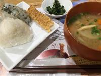 2日 おむすびと豚汁@膳七 - 香港と黒猫とイズタマアル2