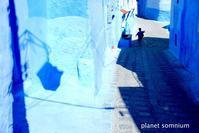 旅フォト:シャウエン in モロッコ - 映画を旅のいいわけに。