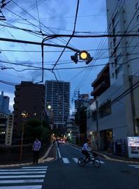 夕ぐれ電線 - 設計通信2 / 気になるカメラ、気まぐれカメラ