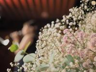 コンサートの花束、baby's breath - 一会 ウエディングの花