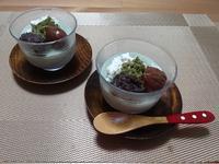 簡単♪ 抹茶ミルクゼリー - candy&sarry&・・・2