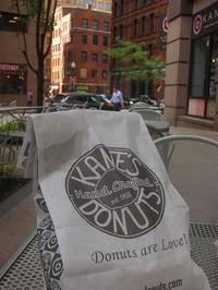 ボストンはドーナッツ激戦区 Kanes - NYからこんにちは