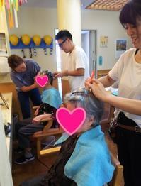 介護施設のお祭りでヘアメイクサービス☆ - 三重県 訪問美容/医療用ウィッグ  訪問美容髪んぐのブログ