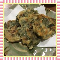 梅干と大葉のチヂミ風おつまみ - kajuの■今日のお料理・簡単レシピ■