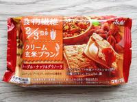 クリーム玄米ブラン メープル・ナッツ&グラノーラ - 池袋うまうま日記。